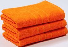 Ručník s výšivkou Miláčkovi 50x100 oranžová