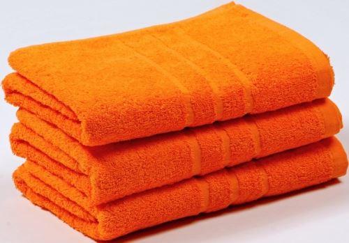 Froté osuška UNI 70x140 cm oranžová