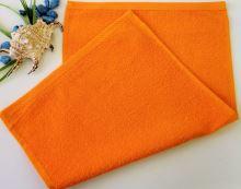 Dětský froté ručník 30x50 cm oranžový