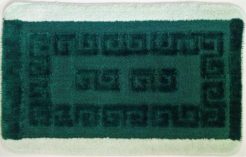 Koupelnová předložka řecké motivy zelené 50x80cm