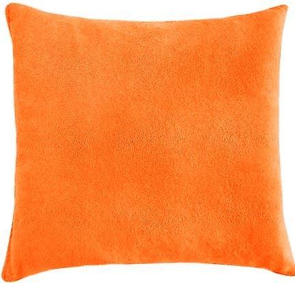 Polštářek Mazlík froté 40x40 cm (č.23-oranžová)