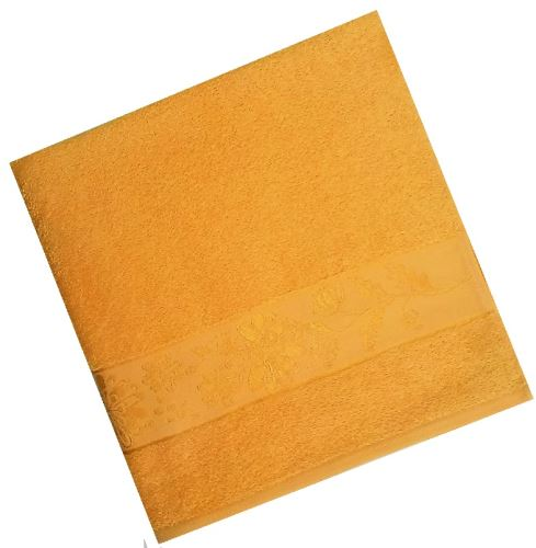 Froté osuška 450g 70x140 cm ( 5-sytě_žlutá)