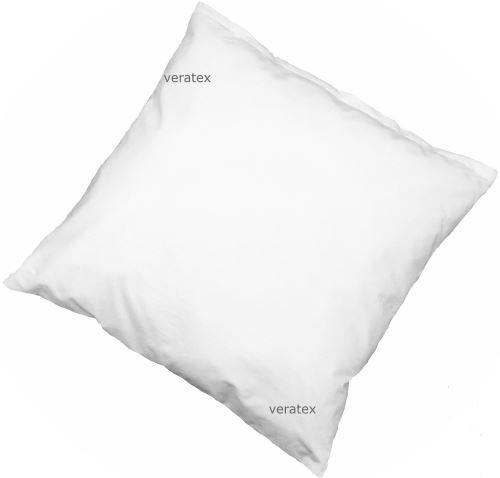 Polštář Klasik / bílý BAVLNA (40x40cm) 95°C Možnost doplnění náplně.