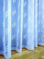 Záclona kusová - Linda 260x400 cm (bílá)