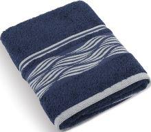 Froté ručník Vlnky 480g 50x100 cm (modrá)