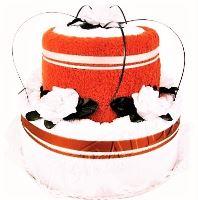 Veratex Textilní dort 2-C dvoupatrový