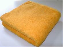 Osuška se jménem, přezdívkou 70/140cm sytě žlutá