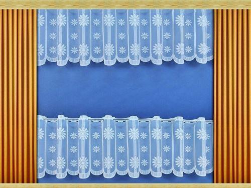 Záclona Astra výška 40 cm (bílá)