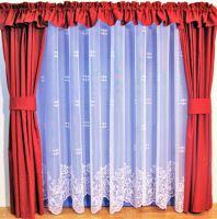 Záclona kusová - Liliana 250x180 cm (bílá) SKLADEM POSLEDNÍ 1KS