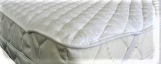 Dětský matracový chránič Voděodolný 60x120 (bílý)