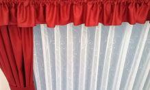 Záclona kusová - Paví oka 150x170 cm (bílá) SKLADEM POSLEDNÍ 3KS