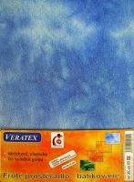 Froté prostěradlo batika 180x200/16cm modrá batika