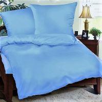 Metráž látka bavlna š 160cm světle modrá