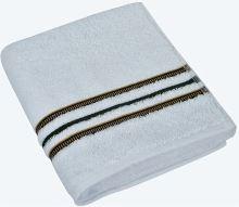Froté ručník Proužek 50x100cm 530g bílá