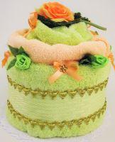 Veratex Textilní dort růže