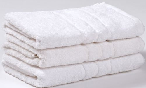 Froté ručník UNI 50x100 cm bílý