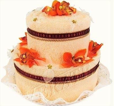 Veratex Textilní dort 2-B dvoupatrový