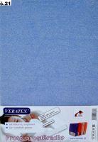 Froté prostěradlo jednolůžko 100x200/25cm (č.21-sv.modré)