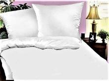 Bílé povlečení - Hotelový uzávěr 70x90-140x200 cm 50% PES/50% BAVLNA
