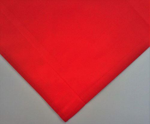 Napron červeny 75/75 cm