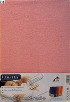 Froté plachta postieľka 60x120 cm (č 8-ružová)