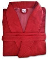 Župan froté červený  (velikost XL)