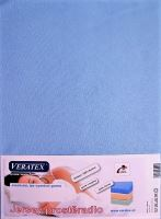 Jersey prostěradlo 160x200 cm (č.21-sv.modrá)