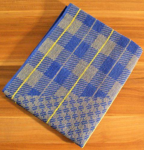 Froté ručník 50x90 cm (šedá kostička)
