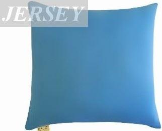 Polštářek Mazlík jersey 40x40 cm (č.22-stř.modrá)