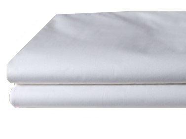 Bavlněné prostěradlo bílé 140x240 cm (bílá)