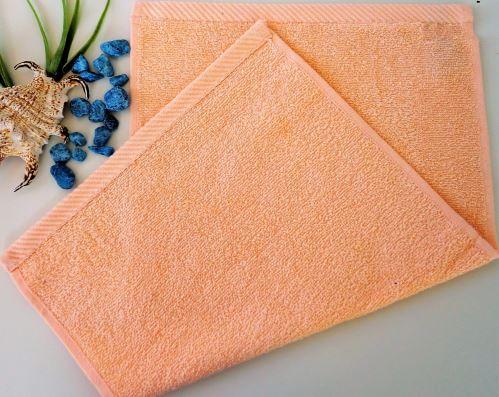 Dětský froté ručník 30x50 cm lososový