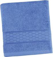 Ručník se jménem, přezdívkou 50/100 cm středně modrý