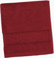 Froté ručník Lucie 450g 50x100 cm (vínová)