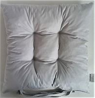 Sedák prošívaný  40x40 cm (šedá)