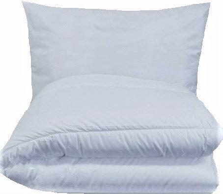 Veratex Dětská souprava deka + polštář (45x64 / 90x130 cm) bílá