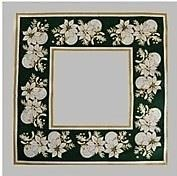 Prostírka 45x45 cm zelená 100% bavlna