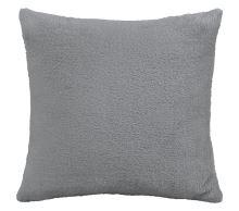 Polštářek Mazlík Korall 38x38 cm šedá